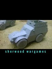 28mm Italian AS37 Armoured Carrier Resin By Blitzkrieg WWII Bolt Action