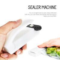 Portable Mini Home Heat Bag Sealer Sealing Machine Packaging. J3H4 Food K0U9