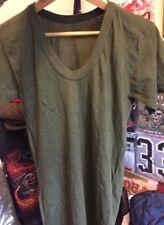 Vintage Vietnam War USMC US MARINE CORPS Undershirt Uniform V Neck T Shirt. Rare