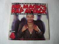 "VARIOUS ARTISTS  ""Mr. Magic's Rap Attack""  (Volume 4)"