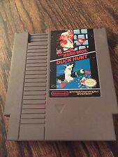 Super Mario Bros. / Duck Hunt Original Nintendo NES Cart Works NE3
