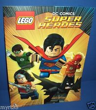 LEGO DC COMICS BOOK with poster  - 2015 Exclusive SDCC comic con Super Heroes