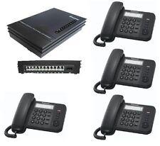 Kit centralino telefonico con 4 telefoni interni. Istruzioni Italiano