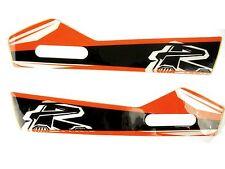 Renthal - HG-100-GK-OR - Moto Handguard Sticker Kit, Orange~