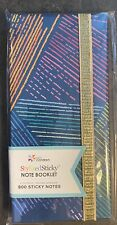 Erin Condren StylizedSticky Note Booklet 800 Stickies Notebook NEW LOWSHIP