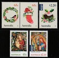 Australia 2020 : Merry Christmas - Design set - Mint Never Hinged