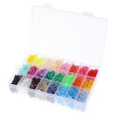 360pcs T5 Plastic Snap Fasteners Press Stud Buttons Popper DIY Leather Clothes