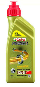Power 1 4-stroke sae 20w50 partly synthetic 1 liter - Castrol