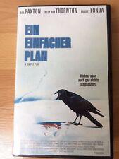 Ein einfacher Plan - VHS / Thriller Bill Paxton Bridget Fonda Billy Bob Thornton