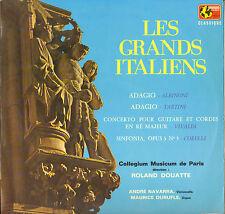 "ANDRE NAVARRA / MAURICE DURUFLE ""GRANDS ITALIENS"" LP MONDIO 1002 STEREO"