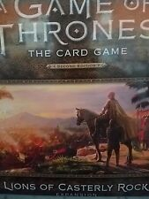 A Game of Thrones Lions of Casterly Rock Deluxe Expansion 2nd Edition Board Game