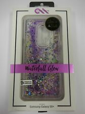 CaseMate Waterfall Glow-In-The-Dark for Samsung Galaxy S9 Plus - Purple Glitter
