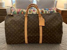 Louis Vuitton Keepall 60 Duffle Bag Monogram Canvas
