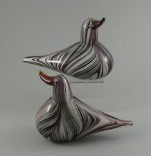 Murano Purple Hand Blown Italian Art Glass