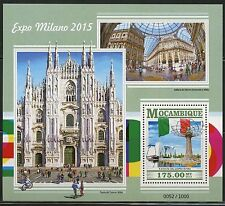 Mozambique 2015 Milan Exposition 2016 Souvenir Sheet Mint Never Hinged