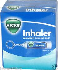 600X Vicks Inhaler nasal congestion blocked stuffy nose Cold INHALE