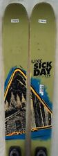 15-16 Line Sick Day 95 Used Men's Demo Skis w/Bindings Size 179cm #174019