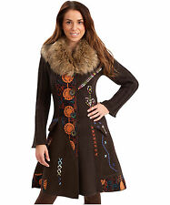 Button Acrylic Blend Long Jumpers & Cardigans for Women
