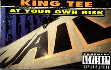 King Tee At Your Own Risk 1990 Cassette Tape Maxi Single Rap Hiphop