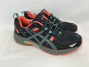 Asics Gel-Venture 5 7.5 Black Athletic Shoes