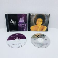 Janis Ian The Bottom Line Encore Collection And Star Australian Import CD LOT X2