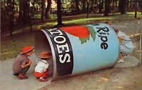 PA Story Book Forest AMUSEMENT PARK Giant Can 1959-64 Roadside postcard AM1