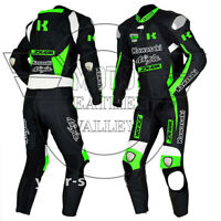 Kawasaki Ninja ZRX-10 Motorbike MotoGp Leather Racing Suit