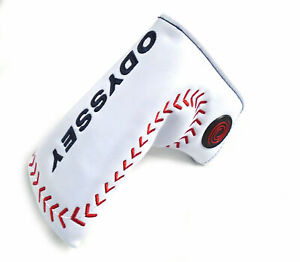 Odyssey Limited Edition Baseball White/Red/Black Blade/Boot Putter Headcover