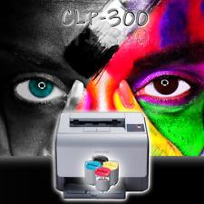 SAMSUNG Farblaserdrucker CLP-300 inkl. neue Toner