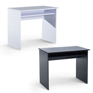 Computer Desk Wooden Writing Study WorkStation Storage Home Office 2 Colours