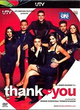 Thank You (Hindi DVD) (2011) (English Subtitles) (Brand New Original DVD)