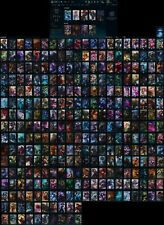 S2 League of Legends account, all champs, 310 skins, 7 Victorious skins, 18 gems