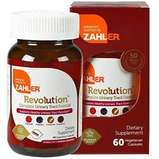 Urinary-tract Bladder Vitamin C Cranberry Probiotic D-Mannose ~Zahler Revolution