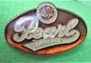 PEARL LAGER BEER LAPEL PIN