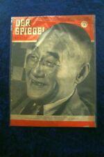 Der Spiegel 37/51 12.9.1951 Japans Sonne ist kein Taxi; Premier Schigeru Joschi