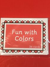 Fun with Colors - FUN WITH LEARNING FLASH CARDS