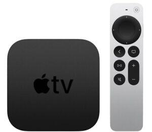 2021 Apple TV 32GB 4K HD Media Streamer - Black (MXGY2LL/A) NEW IN BOX