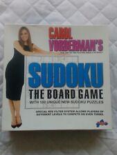 Sudoku Board Game. Carol Vorderman.