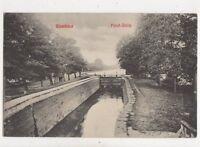 Ujverbdsz Felso Zsilip Canal Serbia Vintage Postcard 888a