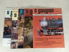 The S Gaugian Newsletter Magazine 1988-90 Mixed Lot 5 issues Model Trains T38-2