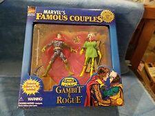 Marvel Famous Couples Gambit & Rogue - Bonus - Pin - NEW