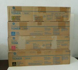 (4) Genuine Konica Minolta TN314 Toner Color Set TN314C TN314M TN314K TN314Y