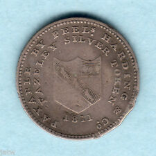 Great Britain - Staffordshire Fazely. 1811 Sixpence Token.  Peels, Harding & Co