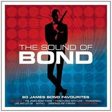 The Sound Of Bond 60 SONGS FROM JAMES BOND MOVIES Music Collection NEW 3 CD