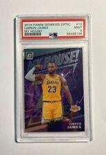 2019 Panini Donruss Optic »My House!« LeBron James #13 PSA 9 Lakers Rookie!