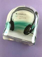 Logitech Stereo Headset H110 Standard Packaging, Silver / Grey #DB1348