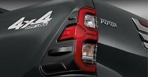 Rear LAMP Light FINISHER 2020 New Toyota Hilux Revo Rocco Gloss Dark Grey