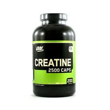 Creatine 2500mg Optimum Nutrition Fast Release 200 Capsules (Best by 02/2019)