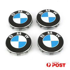 4x 68mm BMW Wheel Center Caps Emblem Cover Hub E39 E60 E36 E46 E65 E90 F30 AU
