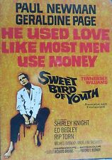Tennessee William's SWEET BIRD of YOUTH(1961)Paul Newman Geraldine Page Rip Torn